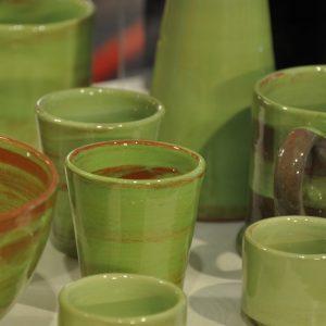 céramiques vertes